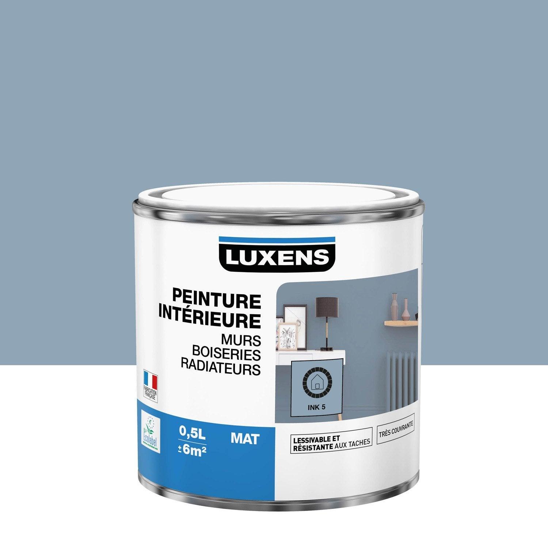 Peinture mur, boiserie, radiateur toutes pièces Multisupports LUXENS, ink 5, mat