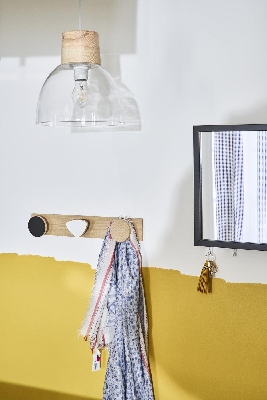 les porte manteaux habillent vos murs leroy merlin. Black Bedroom Furniture Sets. Home Design Ideas