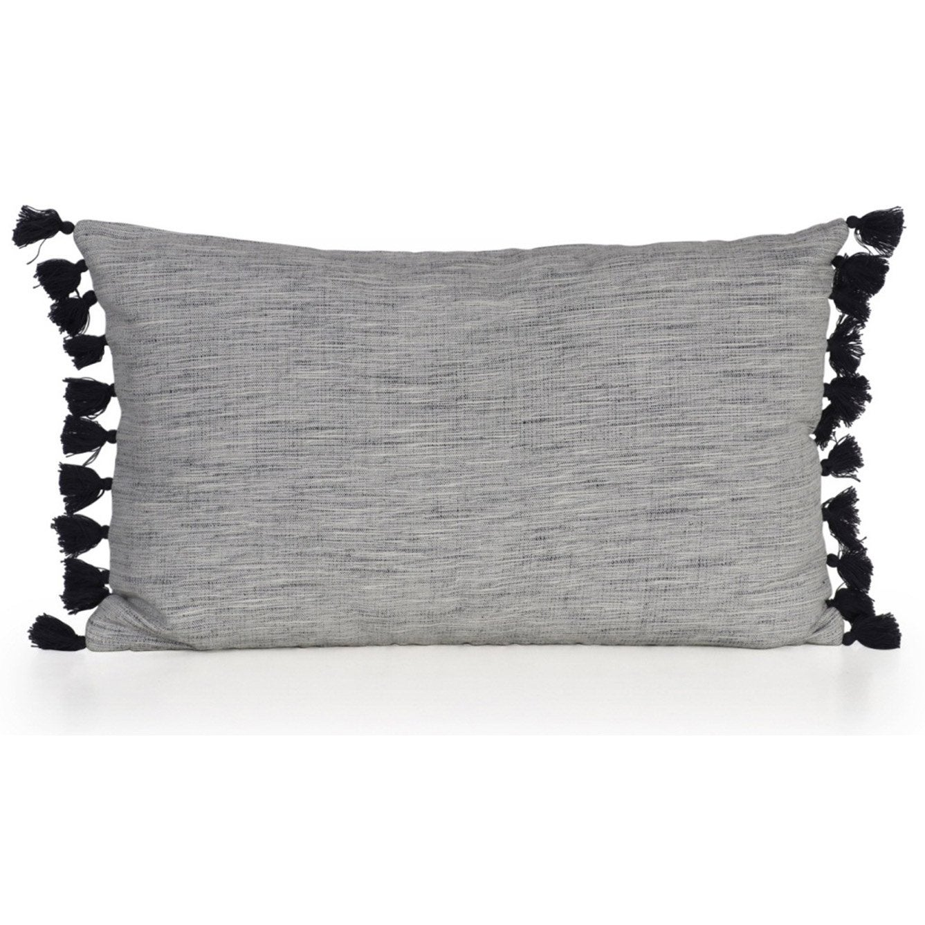 Coussin Chino INSPIRE, gris l.50 x H.30 cm