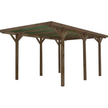 Garage carport leroy merlin for Nice abri de jardin bois pas cher leroy merlin 2 carport 3 voitures bois