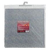 Plaque isolante pour hotte en fibre de roche et aluminium blanc PYROFEU