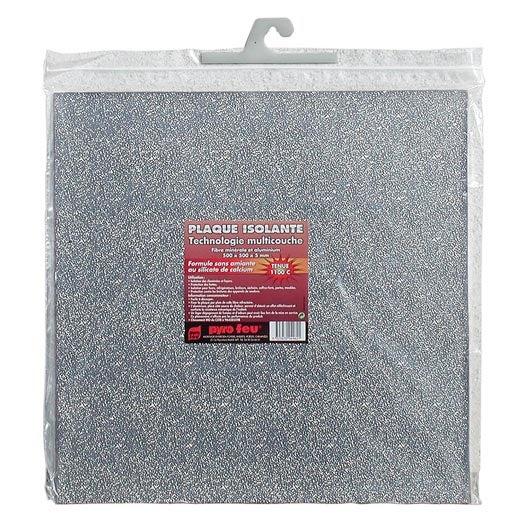 plaque isolante pour hotte en fibre de roche et aluminium. Black Bedroom Furniture Sets. Home Design Ideas