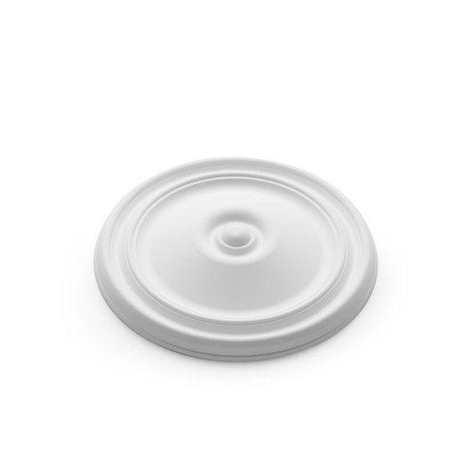 rosace de plafond et cabochon au meilleur prix leroy merlin. Black Bedroom Furniture Sets. Home Design Ideas