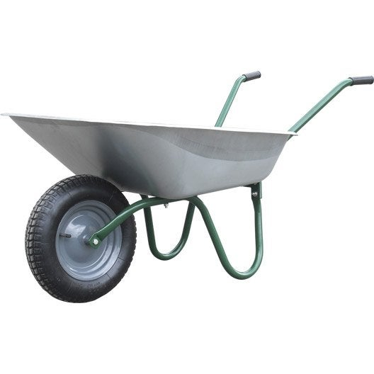 Brouette 1 roue haemmerlin 80 l 80 kg leroy merlin - Brouette leroy merlin ...