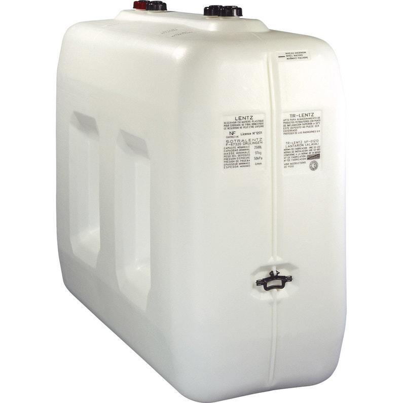 Étonnant Réservoir à fuel polyéthylène 2500L, blanc, SOTRALENTZ   Leroy Merlin GO-73