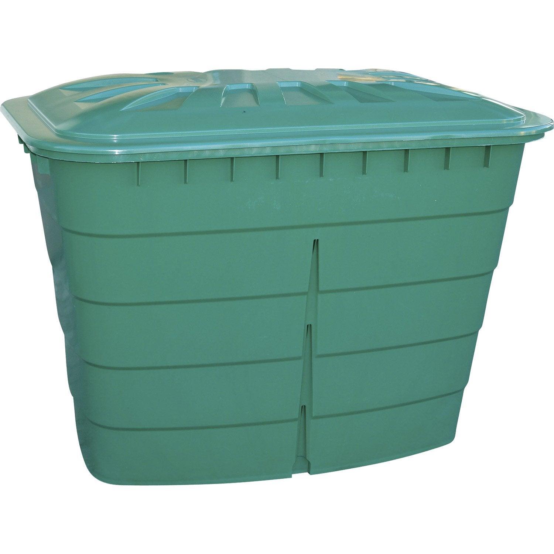 cuve eau rectangulaire vert 520 l garantia leroy merlin. Black Bedroom Furniture Sets. Home Design Ideas