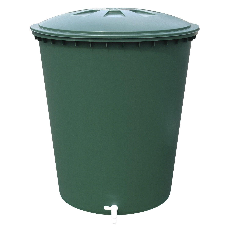 cuve eau cylindrique vert 510 l garantia leroy merlin. Black Bedroom Furniture Sets. Home Design Ideas