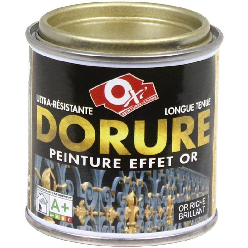 Dorure Patiné Oxytol Or Riche 0125 L Leroy Merlin