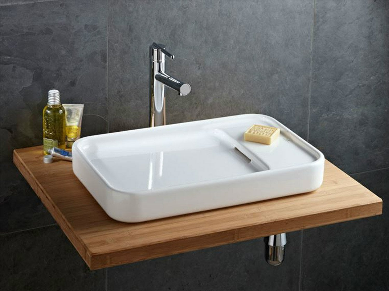 Bien choisir sa vasque ou son lavabo leroy merlin - Leroy merlin vasque een poser ...