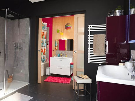 Une salle de bain rien que pour les enfants leroy merlin - Salle de bain pour enfant ...