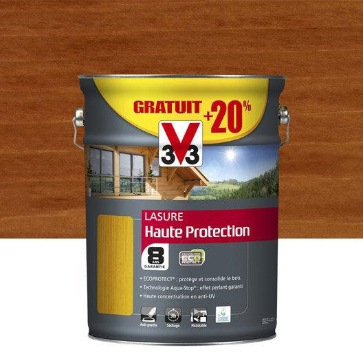 Lasure ext rieure haute protection eco protect v33 pin for Lasure couleur exterieure