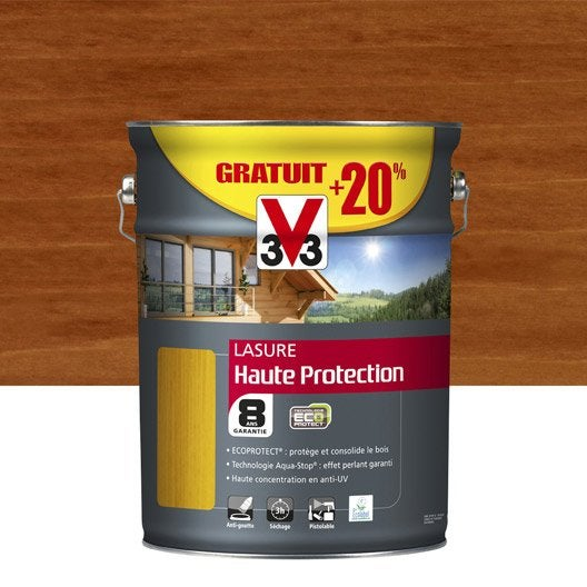 Lasure ext rieure haute protection eco protect v33 pin for Comparatif lasure exterieure