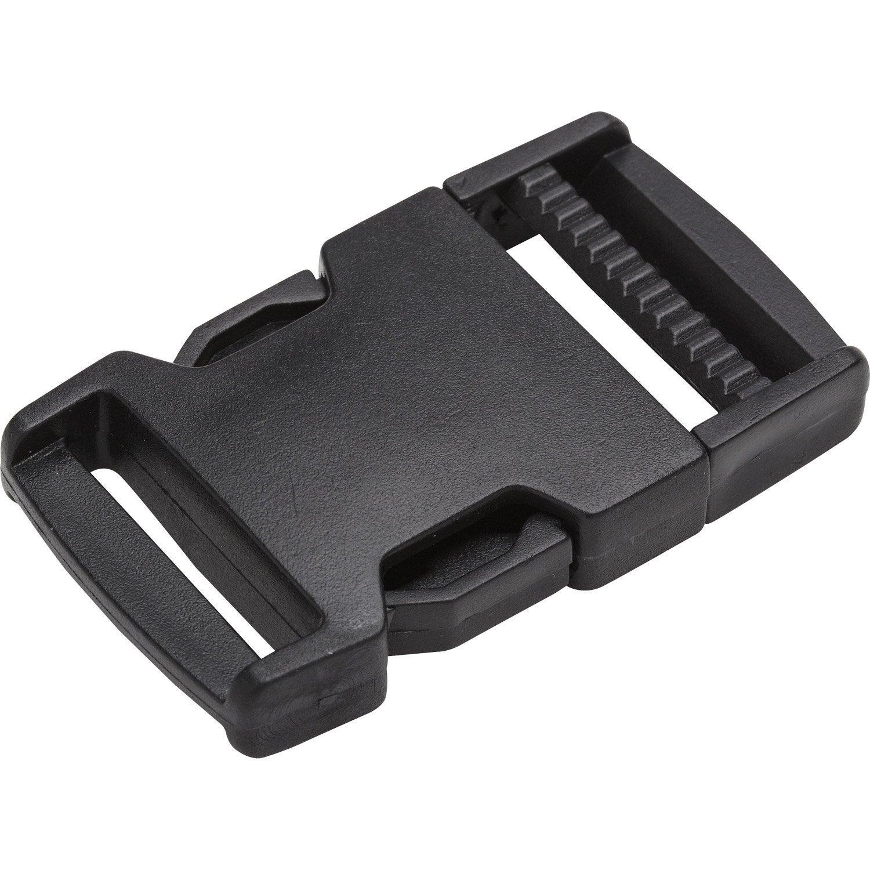 Boucle clips polyamide STANDERS L.67 x l.30 mm   Leroy Merlin 3e34e579eb9