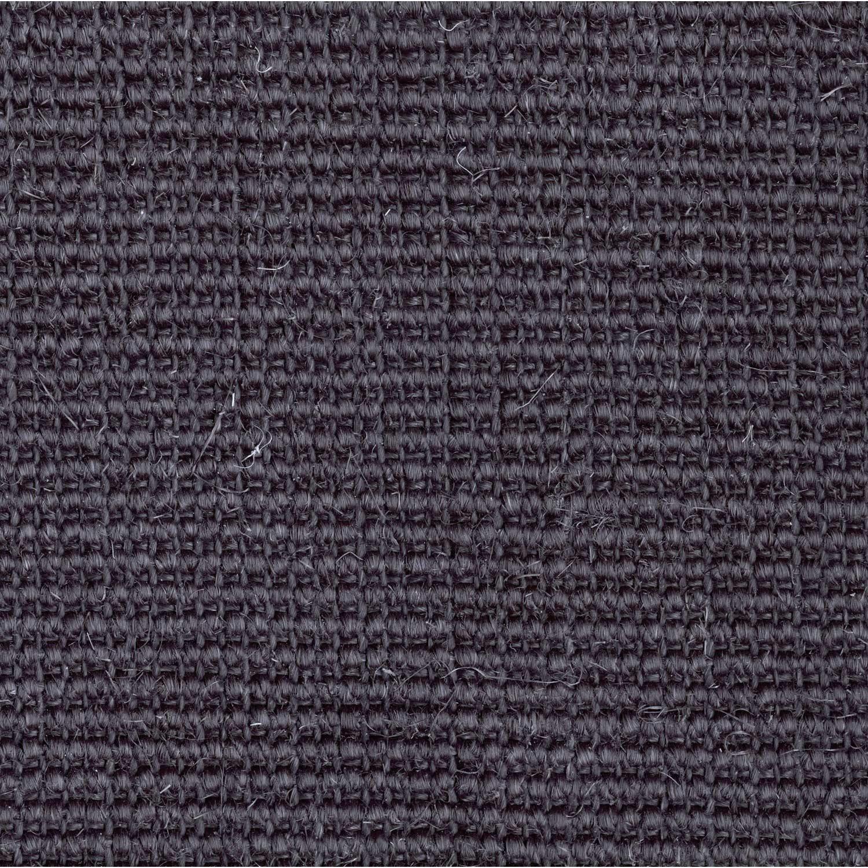 Sisal bouclée uni noire, Livos, 4 m
