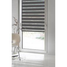store enrouleur jour nuit inspire gris galet n 1 62 66 x 160 cm leroy merlin. Black Bedroom Furniture Sets. Home Design Ideas