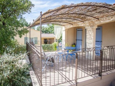 La terrasse de Julien à Aubignan