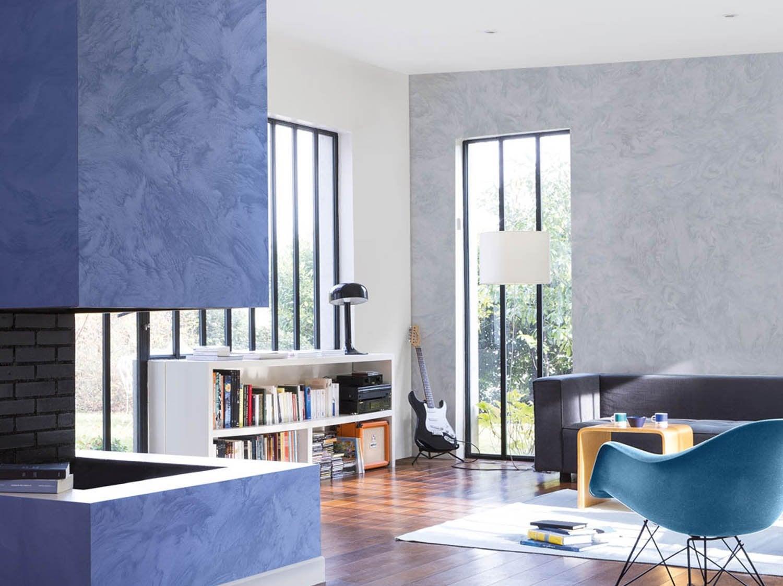 Enduit masqu 39 carrelage et mur maison deco pierre 9 kg leroy merlin - Comment choisir couleur peinture salon ...