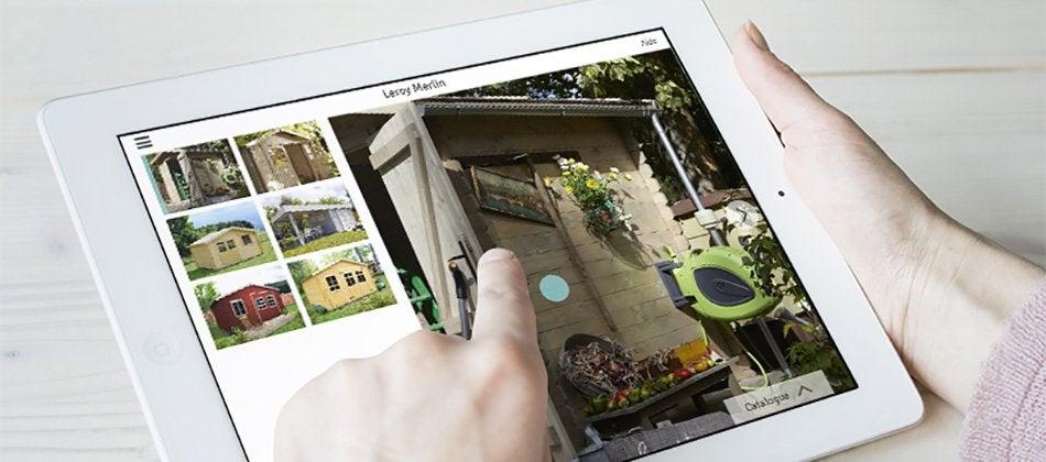 Visualisez votre abri de jardin en 3d directement chez for Mon jardin 3d