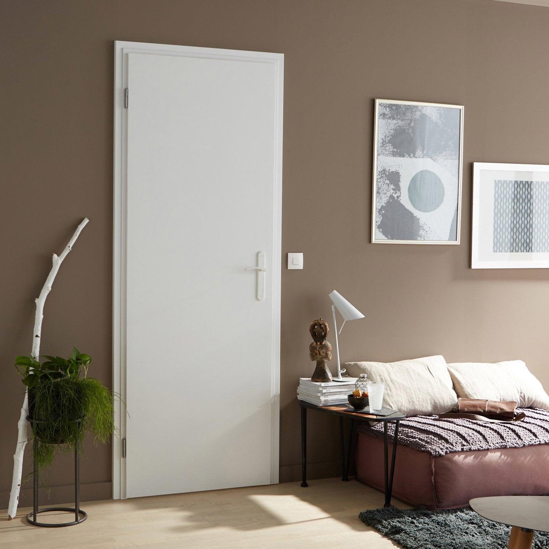 Charmant Bloc Porte Rénovation Blanc Easy Réno ARTENS, H.204 X L.83 ...