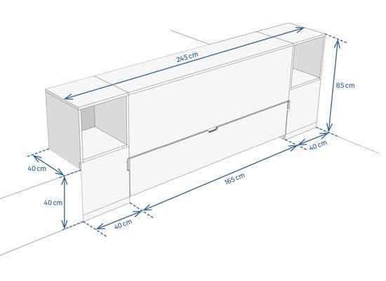 Fabriquer Un Lit Escamotable Avec Rangements Leroy Merlin