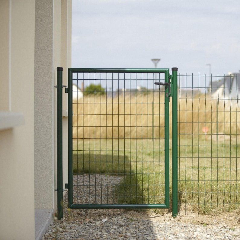 Portillon Grillagé Eco Garden L100 X H100 Cm Vert