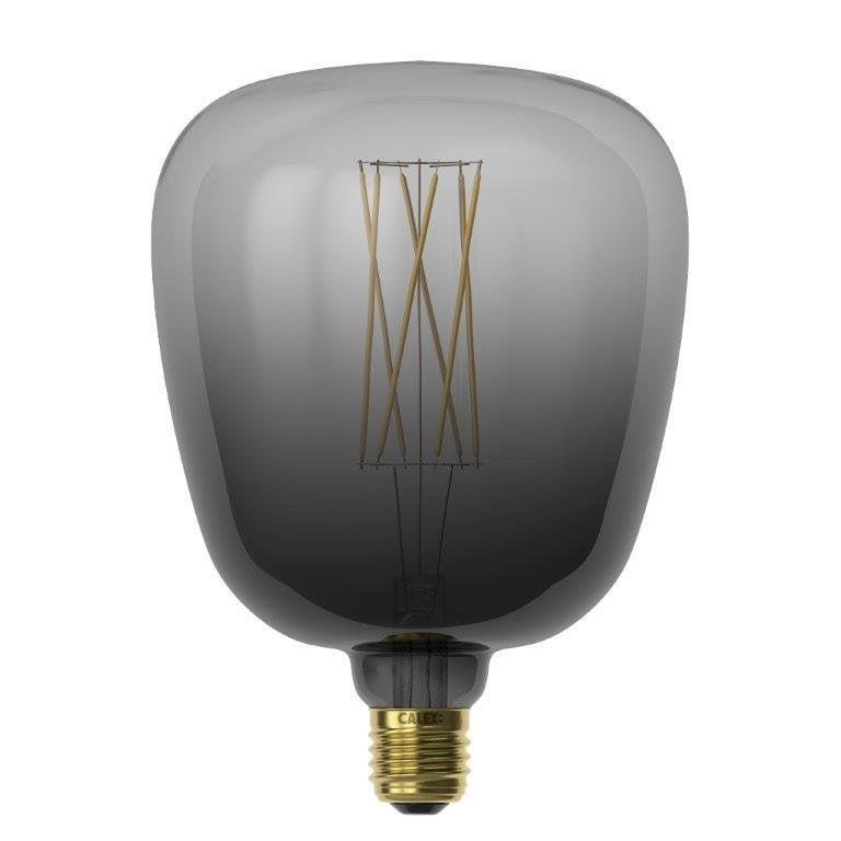 Ampoule décorative Led noire Kiruna 140 mm E27 175 Lm = 40 W, CALEX