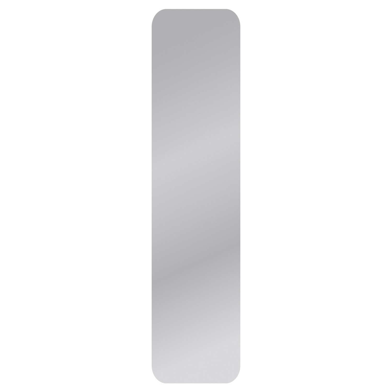 Miroir Non Lumineux Découpé Carré Avec Coins Arrondis L.30 X L.125 Cm