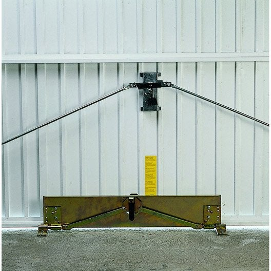 barre de s curit en acier epoxy pour portes de garage leroy merlin. Black Bedroom Furniture Sets. Home Design Ideas
