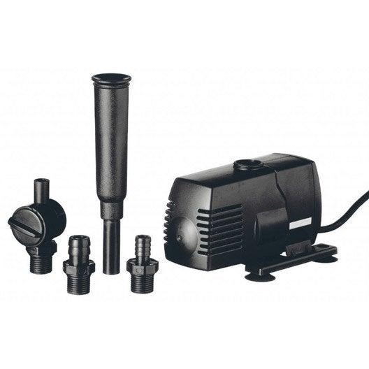 Pompe et kit de filtration pour bassin de jardin for Pompe bassin exterieur