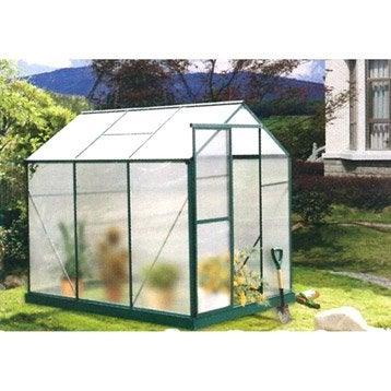Serre Aloeen polycarbonate double parois 5.954 m²