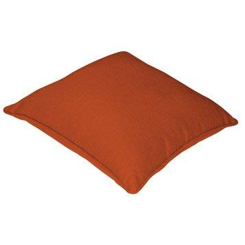 Housse de coussin Cléa, orange orange n°3, 40 x 40 cm