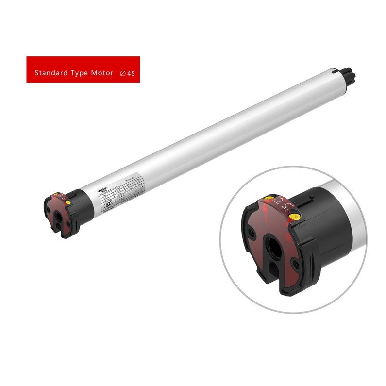 Motorisation De Volets Roulants Filaire Systec 30 Nm Diam60 Mm