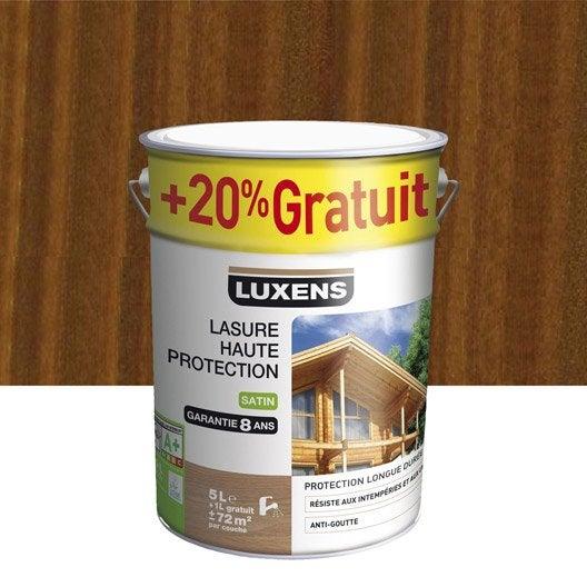 Lasure ext rieure haute protection luxens ch ne rustique for Lasure couleur exterieure