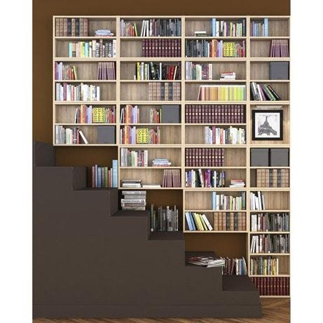 Dressing meuble de rangement et biblioth que spaceo home - Bibliotheque leroy merlin ...