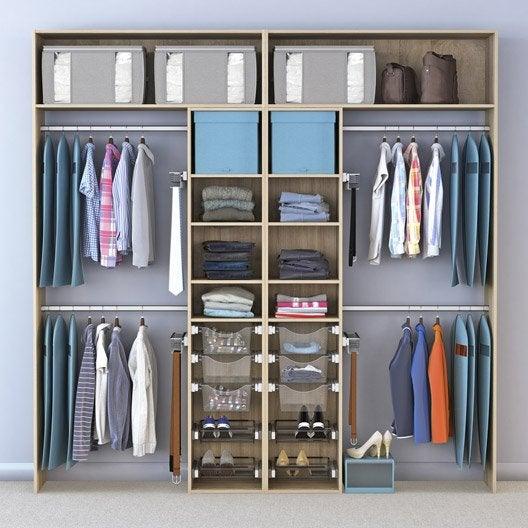 dressing spaceo home effet ch ne leroy merlin. Black Bedroom Furniture Sets. Home Design Ideas