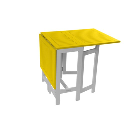 table de jardin rectangulaire limoncello 6 personnes leroy merlin. Black Bedroom Furniture Sets. Home Design Ideas