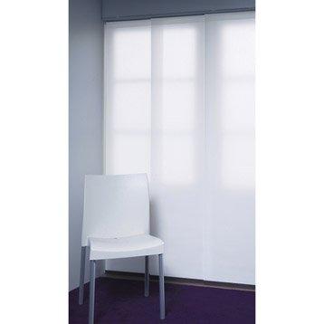Panneau japonais INSPIRE, blanc, 250 x 50 cm