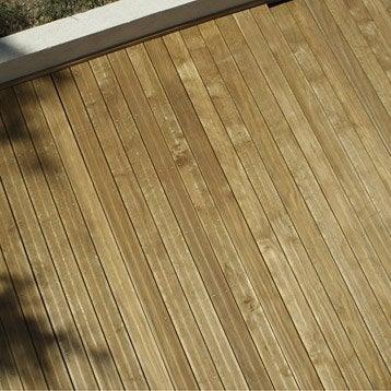 Planche bois Radiata, naturel, L.210 x l.14.5 cm x Ep.28 mm