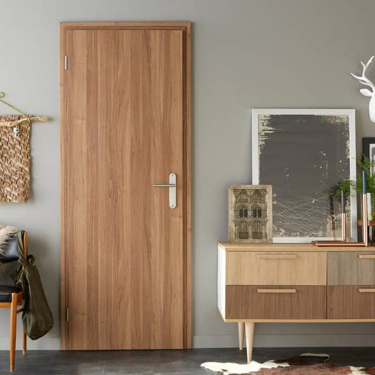 bloc porte r novation easy r no artens x cm poussant droit leroy merlin. Black Bedroom Furniture Sets. Home Design Ideas