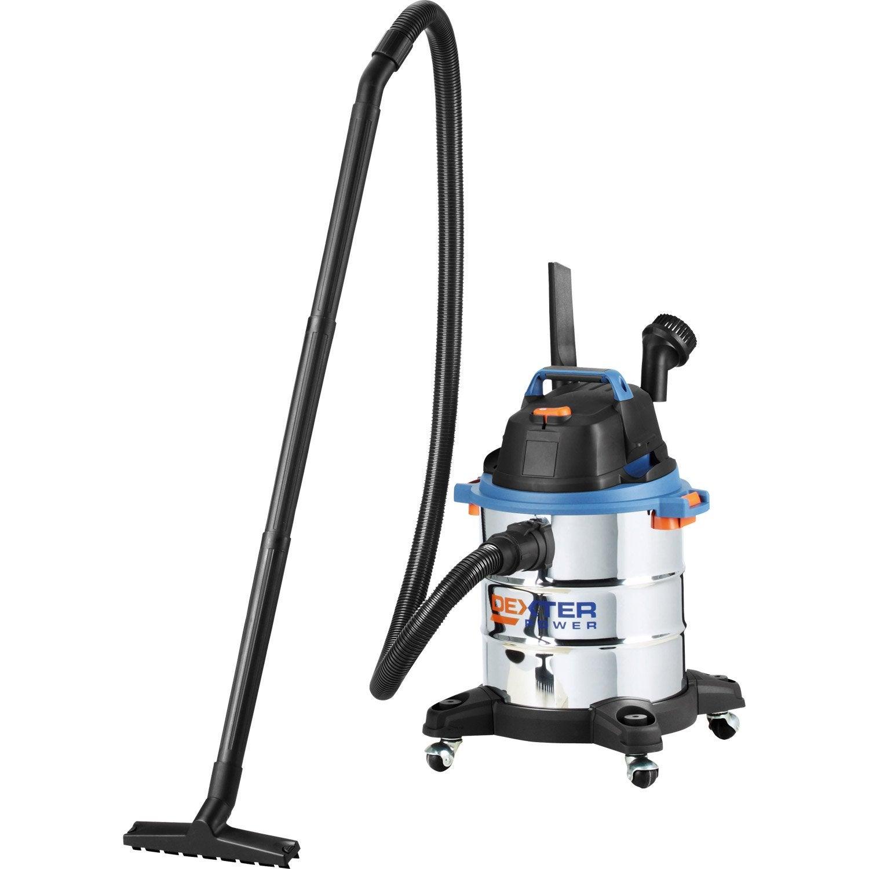 aspirateur eau et poussi res dexter power 15 kpa 20 l. Black Bedroom Furniture Sets. Home Design Ideas