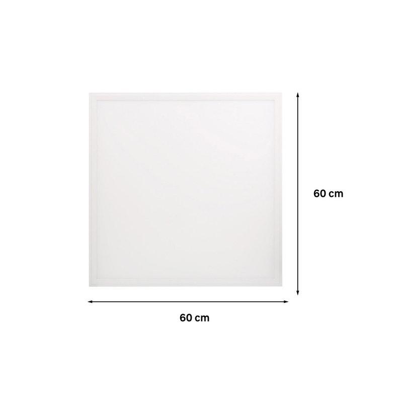 Panneau Led Intégrée Carré 60 X 60 Cm 40 W Blanc Froid