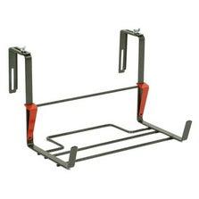 Support balconnière JARDIFER rectangulaire gris métal
