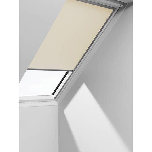 store fen tre de toit occultant beige velux dkl m06. Black Bedroom Furniture Sets. Home Design Ideas
