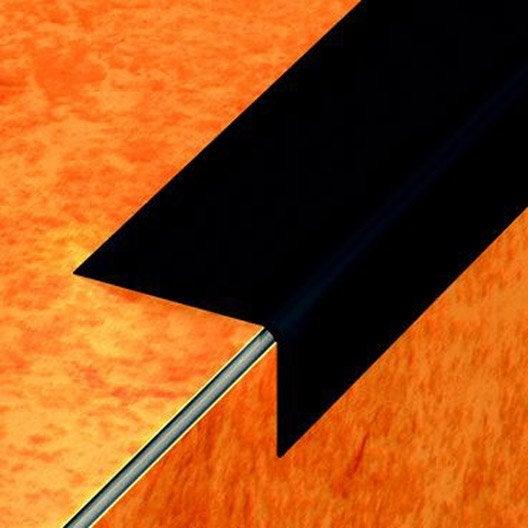 nez de marche en pvc coller dinac noir 65 170 cm leroy merlin. Black Bedroom Furniture Sets. Home Design Ideas