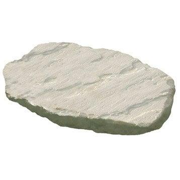 Pas japonais courbée pierre reconstituée écru, St flour