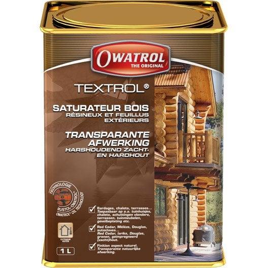 Saturateur OWATROL Textrol 1 l, incolore