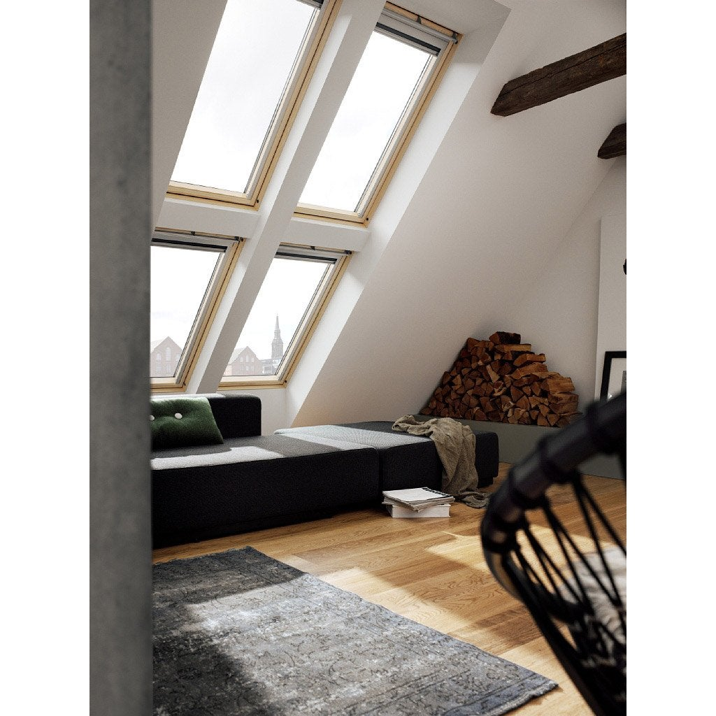 Superb Top Velux Ggl Mk Confort Integra Par Rotation L X H Cm With Store Velux Ggl  Mk04.