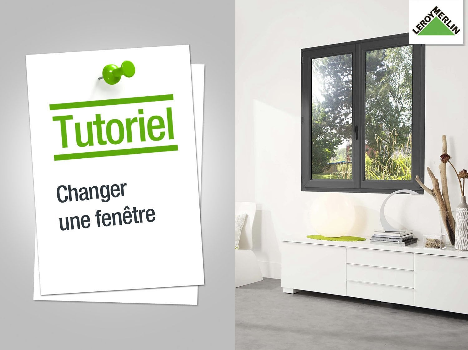 Fen tres ou baies vitr es sur mesure la plus belle for Pose d une fenetre pvc en renovation