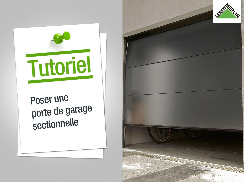 Portes de garage sur mesure sous haute surveillance - Porte de garage a enroulement leroy merlin ...