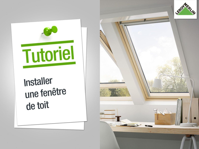 Comment installer une fenêtre de toit ?